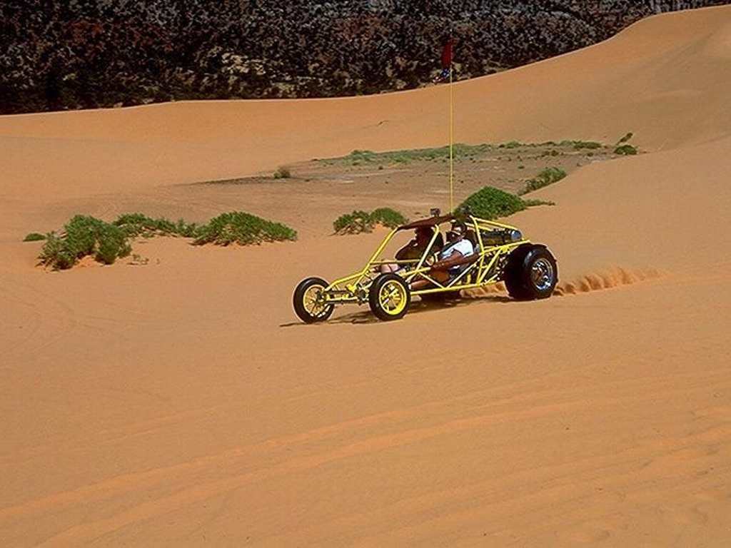 Dune Buggy at Coral Pink Sand Dunes